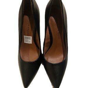 Christian Siriano Black heals 4 inch heel